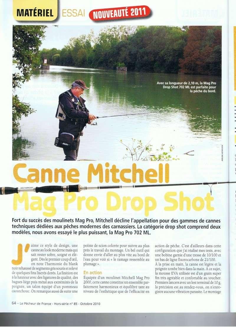 Mag pro special drop shot de chez Mitchell en 2.10m, 5/18g Mitche10