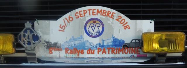 8ème Rallye du Patrimoine du 15 et 16 septembre 2018 Dscn3611