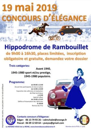 127ème RVR et 8ème Bourse d'échanges à Rambouillet, dimanche 19 mai 2019 E2fbf510