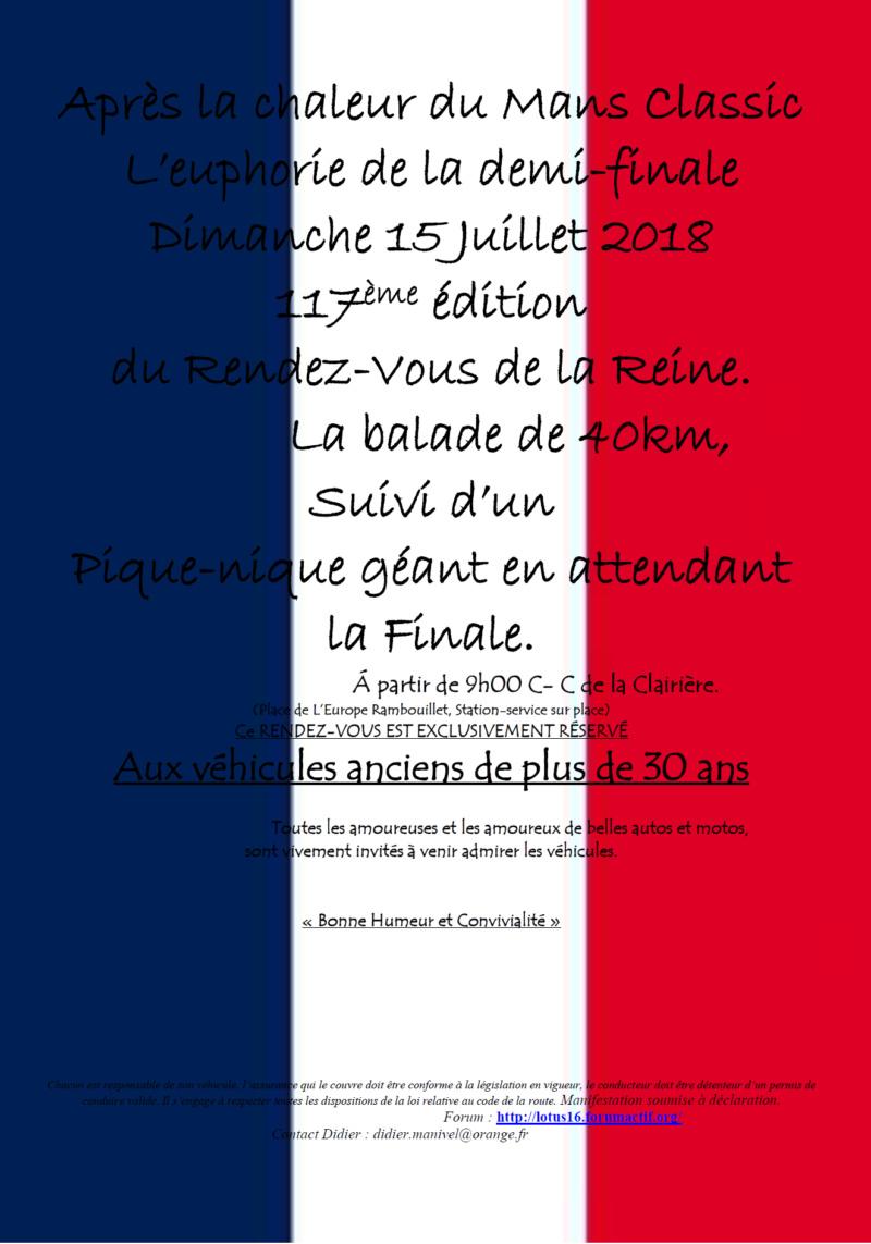 117ème Rendez-Vous de la Reine - Rambouillet le 15 juillet 2018 Image011