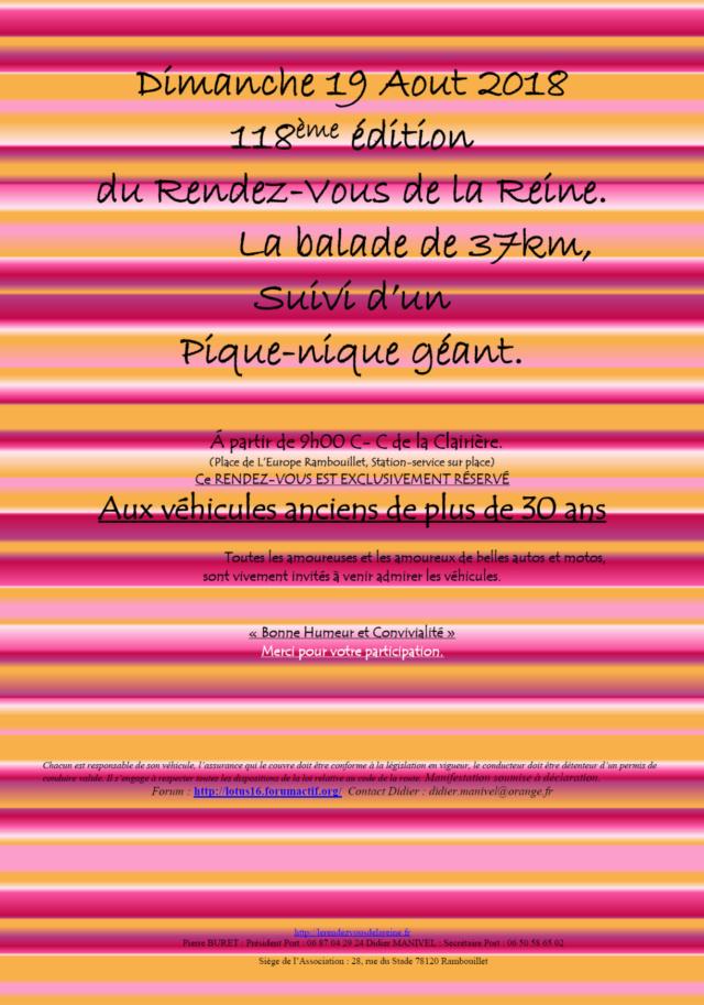118ème Rendez-Vous de la Reine - Rambouillet le 19 août 2018 Image012