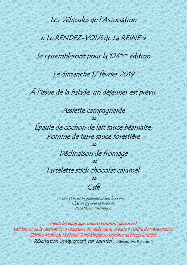 124ème Rendez-Vous de la Reine - Rambouillet le 17 février 2019 Image013
