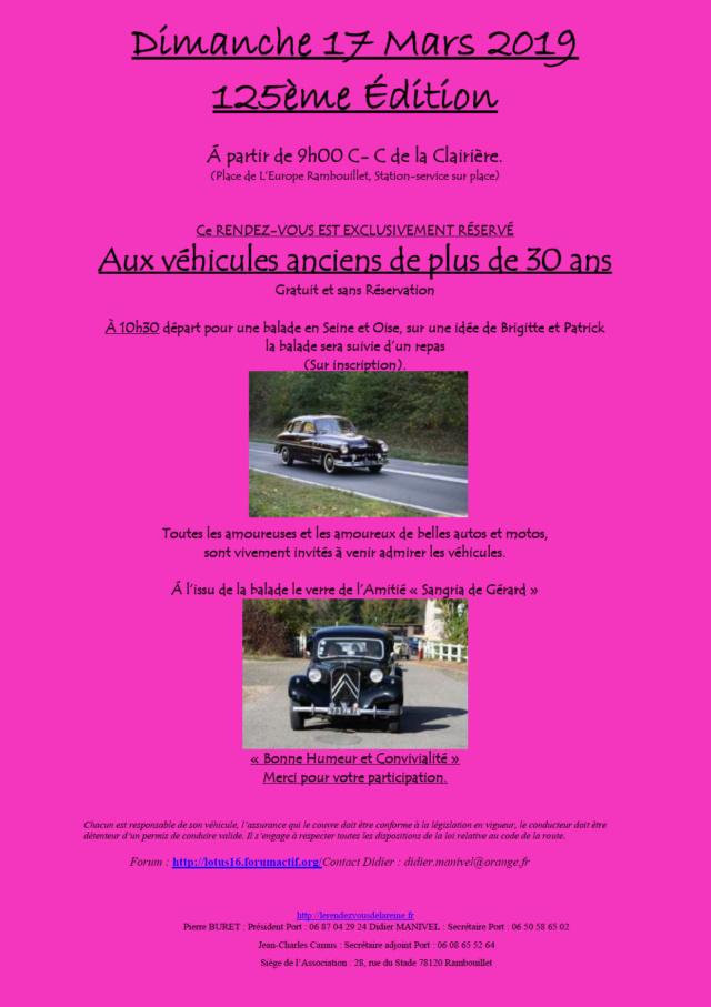 125ème Rendez-Vous de la Reine - Rambouillet le 17 mars 2019 Image014