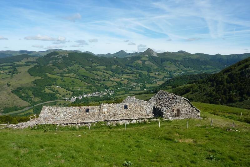 Vallée de la Cère : Burons Niercombe / Fumade vieillle P1050321