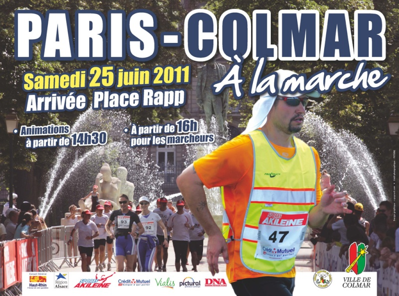 l'affiche de PARIS-COLMAR 2011 Affich10