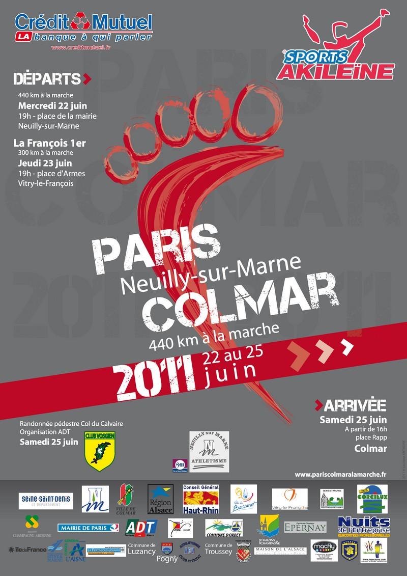 l'affiche de PARIS- Neuily sur Marne-COLMAR 2011 Parisc11