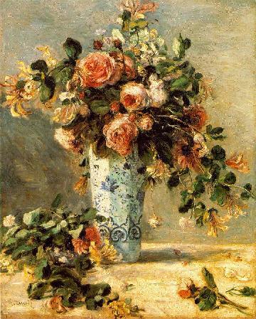 Les FLEURS  dans  L'ART - Page 3 Renoir10