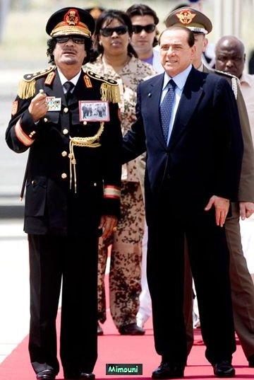 marche - Mimouni: Le paradoxe Libyen Kadafi11