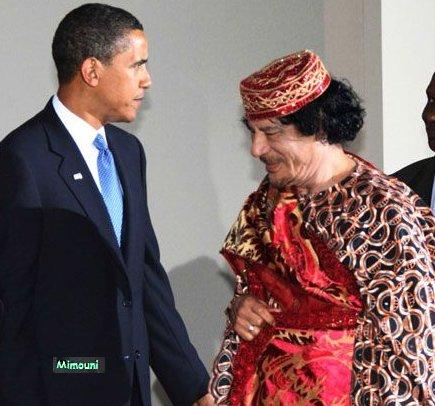 marche - Mimouni: Le paradoxe Libyen Kadafi12