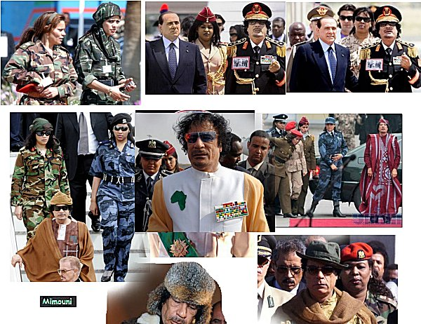 marche - Mimouni: Le paradoxe Libyen Kadafi13