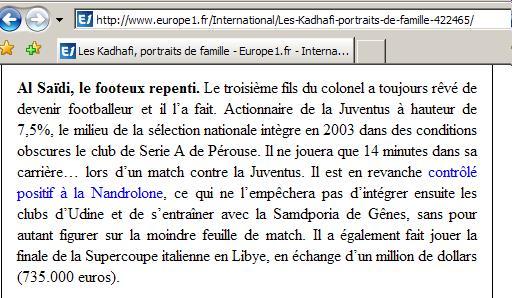 marche - Mimouni: Le paradoxe Libyen Libye910