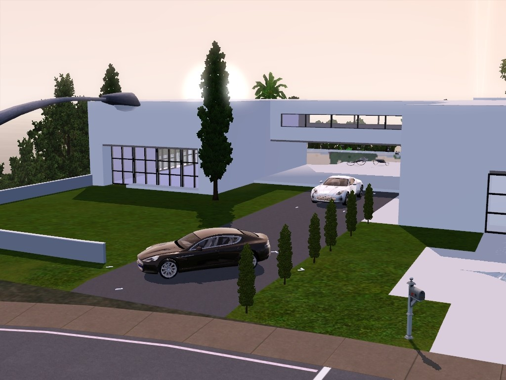 exxlusive modern house sims 3 Screen13
