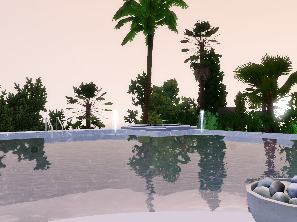 exxlusive modern house sims 3 Screen14