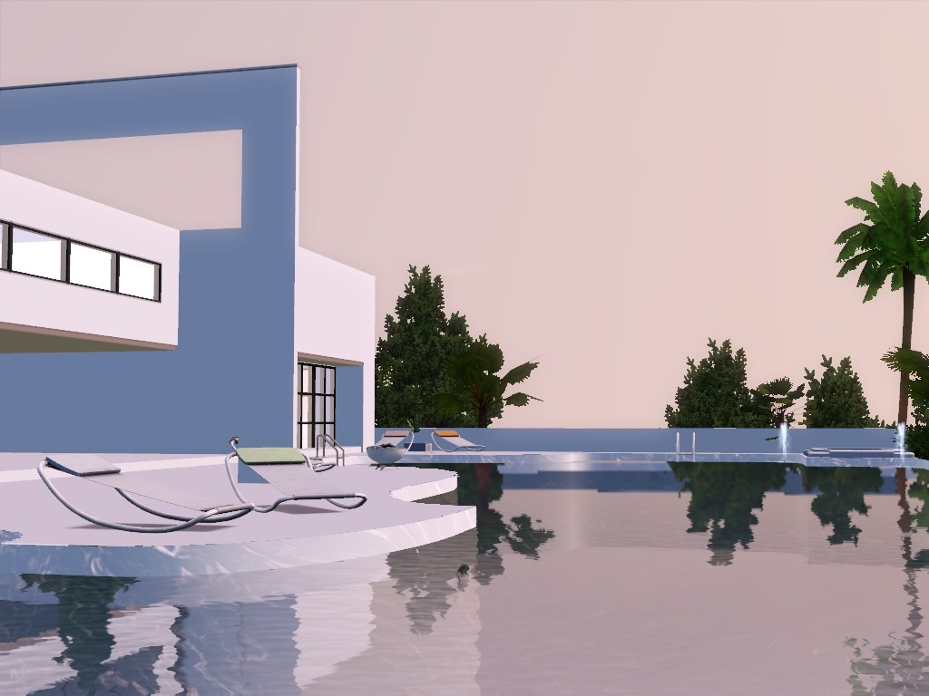 exxlusive modern house sims 3 Screen15