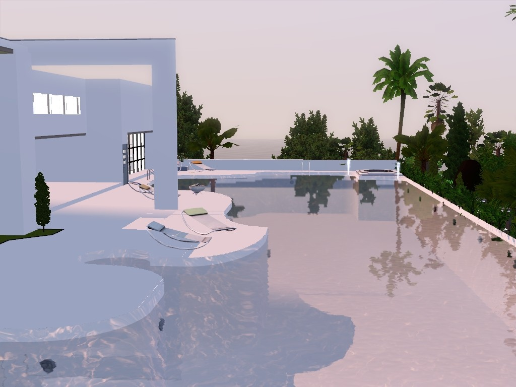 exxlusive modern house sims 3 Screen16