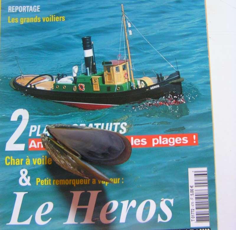"""Construction en bateau moule du remorqueur """"Le Héros""""1/244èmè H010"""