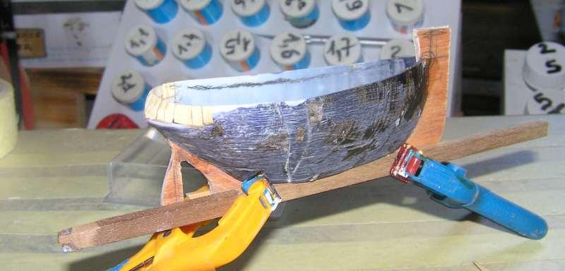 """Construction en bateau moule du remorqueur """"Le Héros""""1/244èmè H310"""