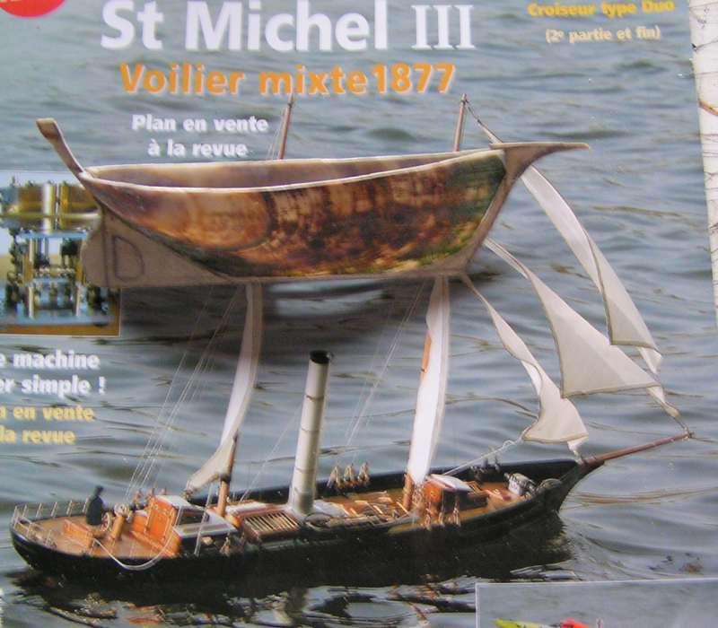 Mise en chantier du St Michel  III en bateau -moule M210