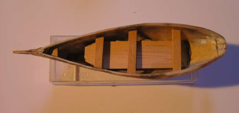 Mise en chantier du St Michel  III en bateau -moule M410