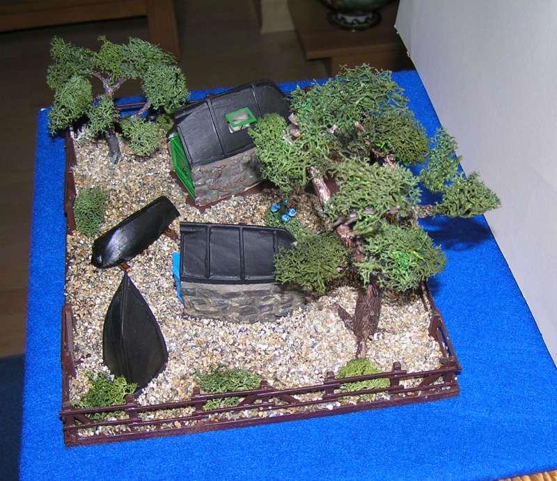 Les cabanes de Pot Rhu  toits en coque de moule Rhu1710