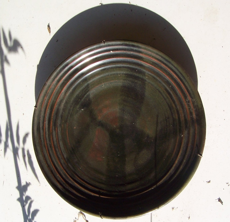 Unmarked woodfired dish Hanmer16