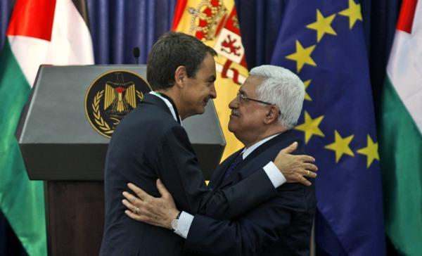 La España de Zapatero apoyará la división de Israel Mahmud10