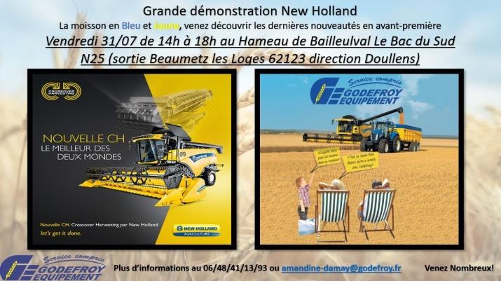 New Holland   Une moissonneuse-batteuse hybride de CR et CX  Fxe2zu10