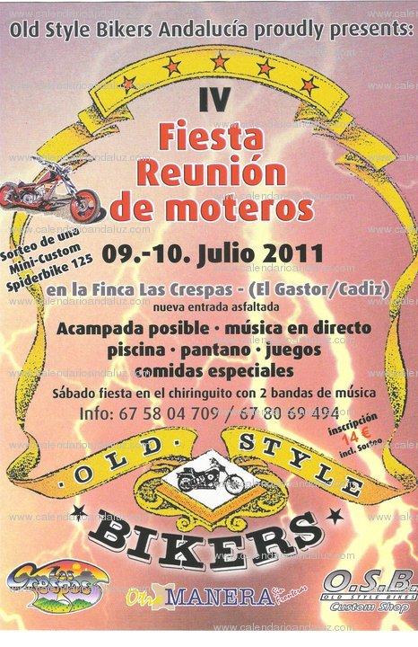 IV Fiesta Reunión de moteros 2011 Tempra10
