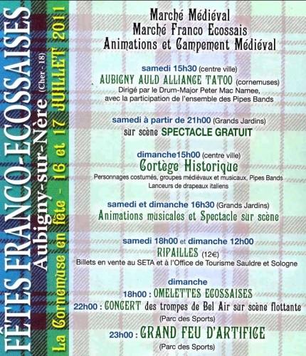 Fêtes Franco Ecossaise d'Aubigny sur Nére 26687310