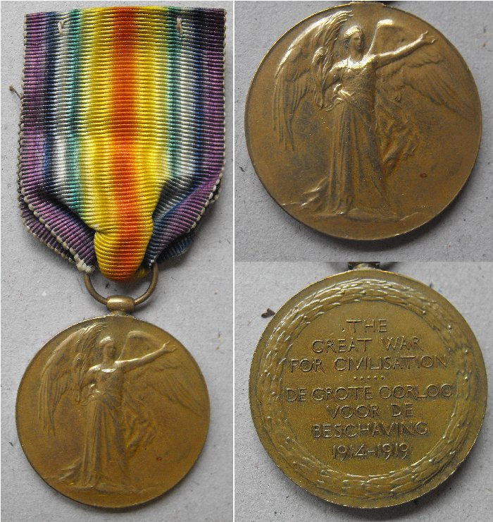 WW1 Allied Victory Medal Sa_a_c10