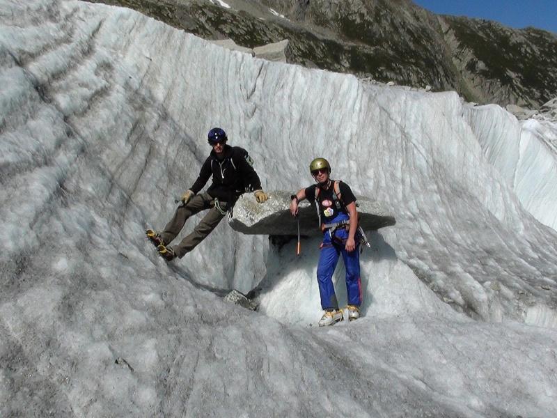 Ecole de glace sur la Mer de glace. Dsc00210