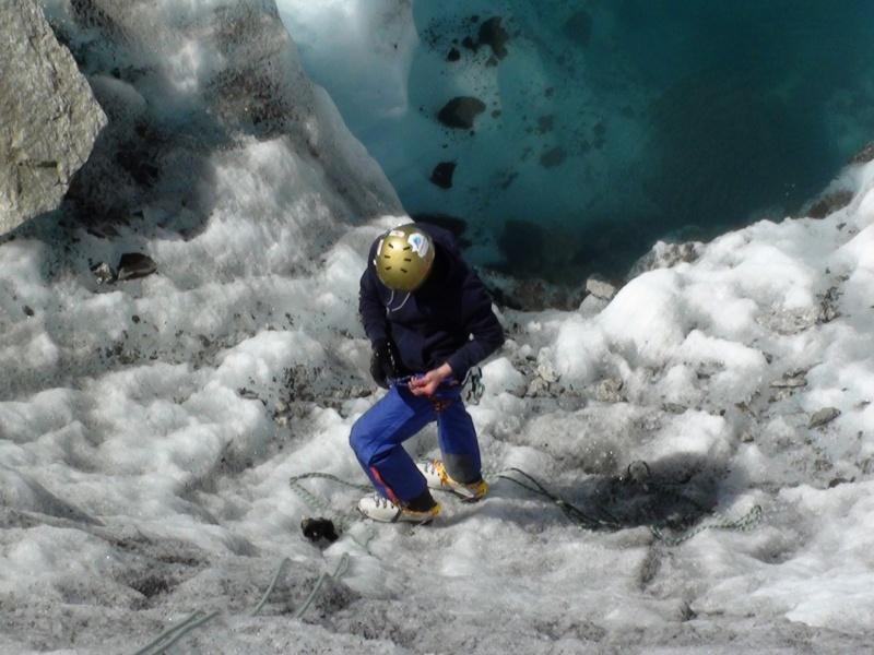 Ecole de glace sur la Mer de glace. Dsc00212