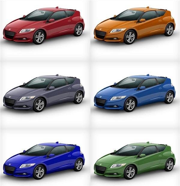 Les 7 coloris de la Honda CRZ Colors11