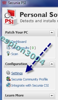 Secunia Personal Software Inspector (PSI) : Contre Les exploits et failles de sécurité dans les logiciels ! 05-06-13