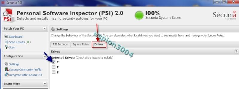 Secunia Personal Software Inspector (PSI) : Contre Les exploits et failles de sécurité dans les logiciels ! 05-06-15