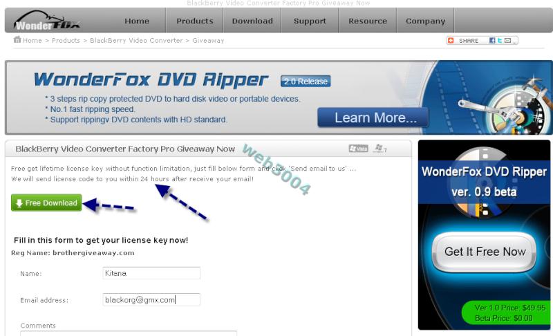 Téléchargez BlackBerry Video Converter Factory Pro [Promo] 11-05-13