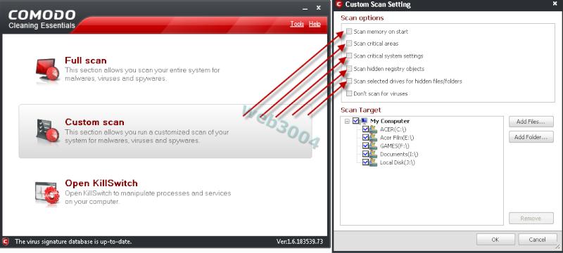 Télécharger : Comodo Cleaning  Essentials (32 et 64 bits) 14-05-13