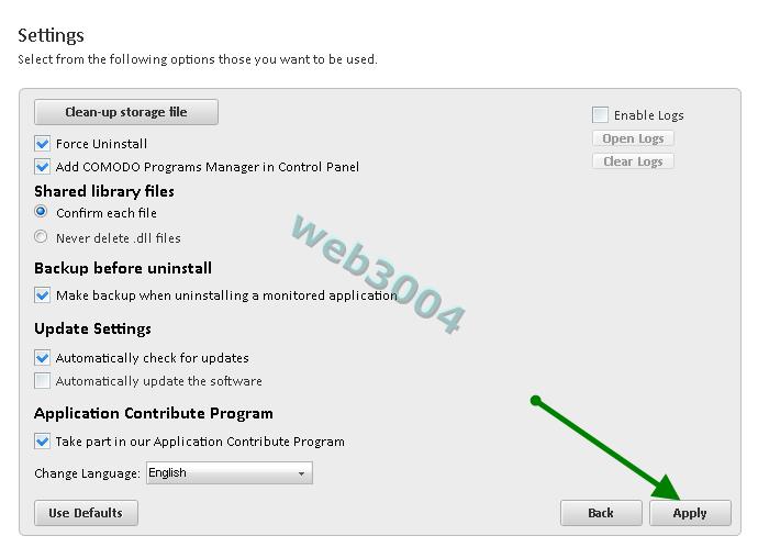 """Télécharger gratuitement """"Comodo Programs Manager"""" : Au revoir Revo ! 22-05-34"""