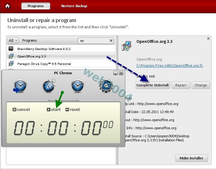 """Télécharger gratuitement """"Comodo Programs Manager"""" : Au revoir Revo ! 22-05-36"""