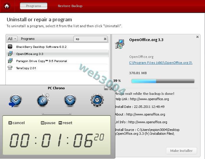 """Télécharger gratuitement """"Comodo Programs Manager"""" : Au revoir Revo ! 22-05-37"""