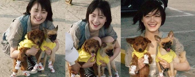 [Photo] Hye Sun và Cún yêu Kamiu011