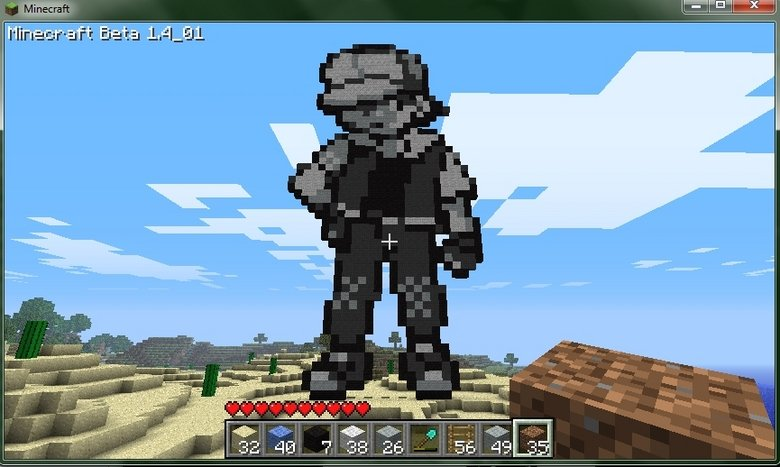 Most Wondurful thing created..In Minecraft... 562e6e10