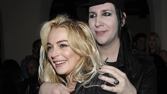 Marilyn Manson & Lindsay Lohan? Marily11