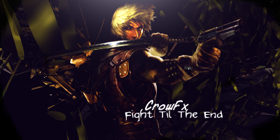A Couple Of GFX By Me.  Fightt10