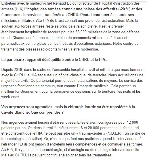 [Le service de santé] L'HÔPITAL DES ARMÉES DE BREST - Page 2 412