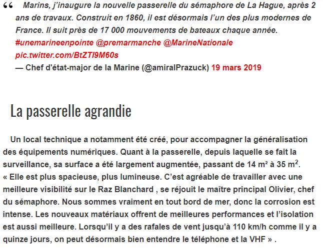 SÉMAPHORE - LA HAGUE (MANCHE) Hag310