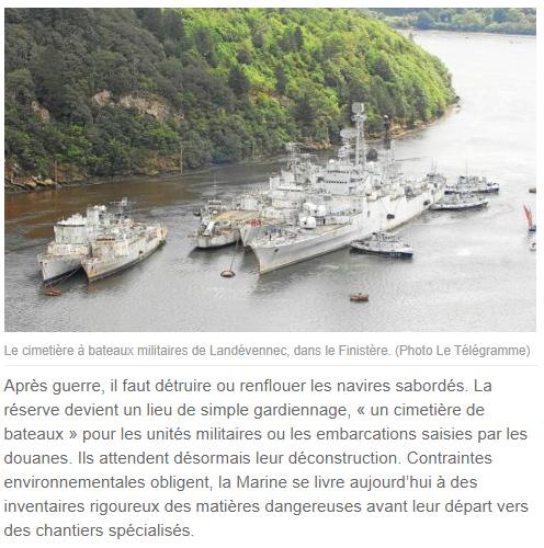 [Le cimetière des bateaux et du patrimoine de la Marine] Le cimetière de LANDEVENNEC - Page 28 L711