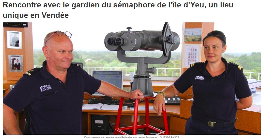 SÉMAPHORE - Saint Sauveur à L'Ile d'Yeu Yeu110