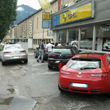 DRIVING AND SHOPPING: CON LE NOSTRE ALFA AL FOXTOWN DI MENDRISIO (SWISS). - Pagina 3 Picsin10