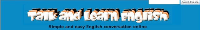 Simple and easy online English lessons - http://www.talk-and-learn-english.com/ Tle10
